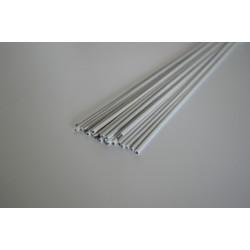 Lut miękki do aluminium Zn Al4U otulony biały 2,00 mm